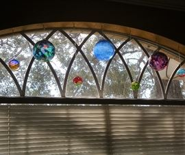 HANGING GLASS SUNCATCHER'S