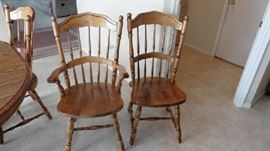 Kitchen table set chairs