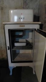 Antique General Electric Refrigerator