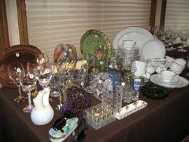Ass't glasswares