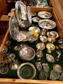 Sterling Silver serving pieces (not kept in home during off-sale hours)