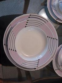 Living room Pink & Grey china