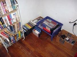 Center Bedroom  Books, Cd's, DVD's, VHS