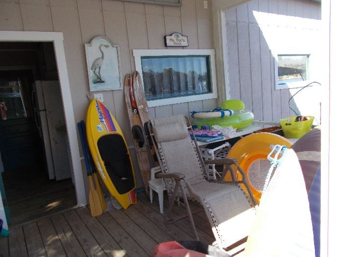 at the boat house all is for sale!