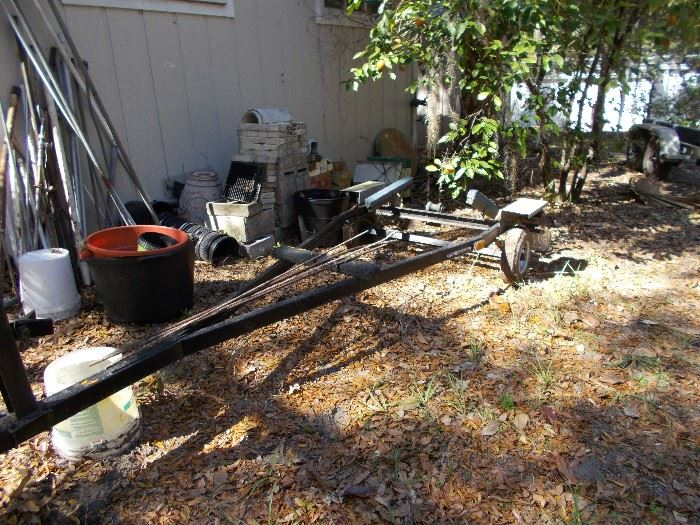 this is the boat trailer for sale for the sail boat