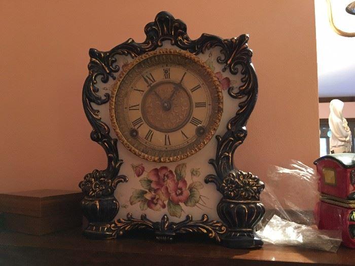 Porcelain clocks
