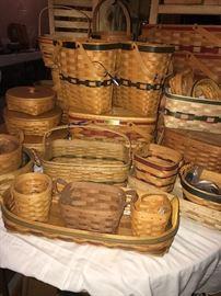 More longaberger baskets!