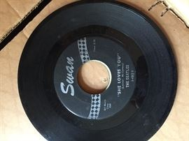 Beatles 45 Swan Records.  Many more 45's and albums.