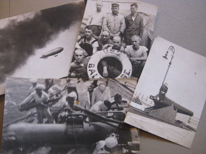 vintage Naval photos