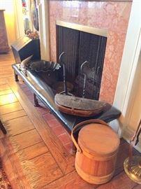 Fireplace Fender/Seat