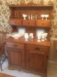 Maple Hutch by Cal Shops Furniture Co. Purchased in 1956