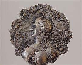 art nouveau chatelaine piece