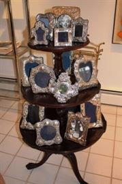 Antique Sterling Silver Frames From Sotherby's, Jay Strongwater & more