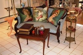 Assorted Tables, Furnishings and Decorative