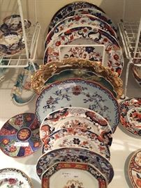 Beautiful Imari plates and other selections