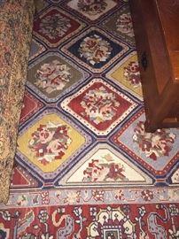 Fabulous 9 feet x 12 feet rug with brilliant colors
