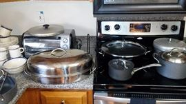 lots of kitchen items