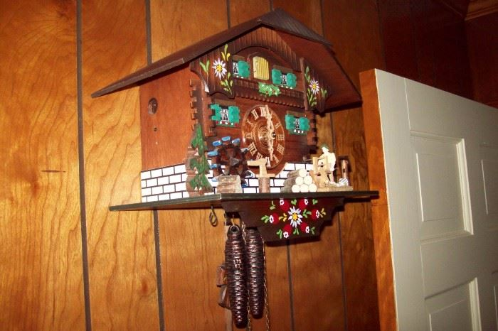 Final weekend living estate sale in cartersville ga starts on 3 3 2017 - Colorful cuckoo clock ...