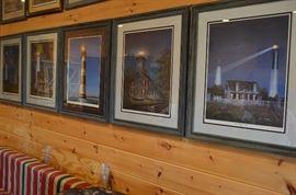 Framed Rare Jim Booth Prints