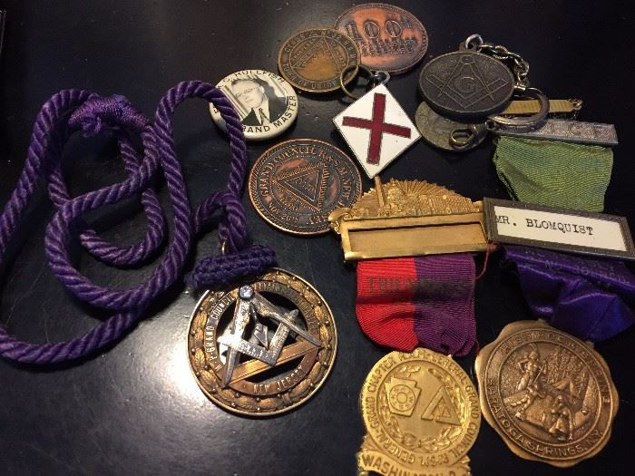 Masonic medals