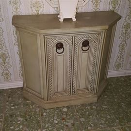 Entry Hall Table Cabinet