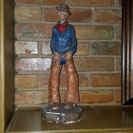 Chalkware Cowboy