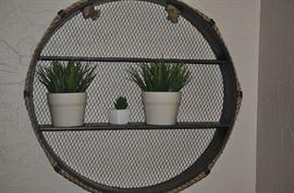 DECORATIVE PLANT SHELFS