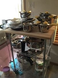 Q-Linar Stainless cookware From Neiman Marcus