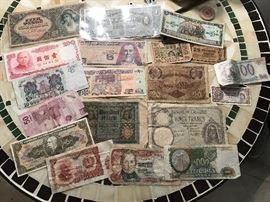 ASSORTED WORLD MONEY