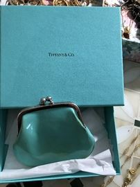 COIN BAG FROM TIFFANY'S, (HMMM: BREAKFAST?)