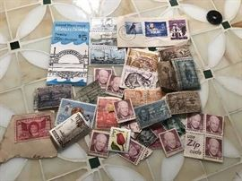 ASSORTED STAMPS OF THE WORLD