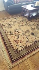 Shaw Rugs - Kathy Ireland Collection. 8x11. Style: Sonnet Natural