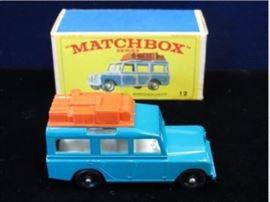MatchBox 12 Safari Land Rover