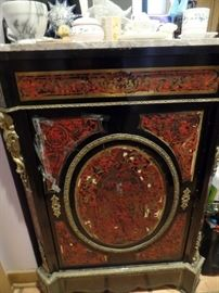 Antique tortoise and boulework safe