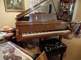Fantastic Steinway baby grand piano