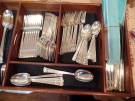66 pieces Tiffany San Lorenzo sterling