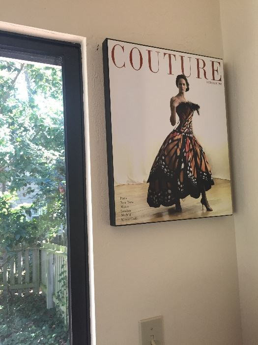 Couture Magazine Wall Art, Wall Art Best Of Couture Magazine Wall ...