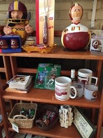 Vintage Redskins and Sports Souvenirs