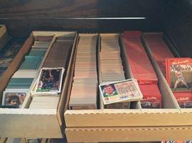 Baseball, Football & Basketball Cards