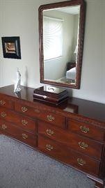 Fine Baker  bedroom dressers and nightstands....minty condition...