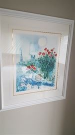 Chagall Print - numbered
