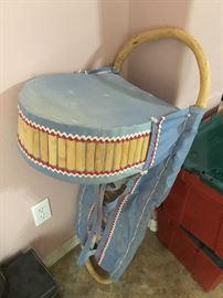 Native American Craddle Board.