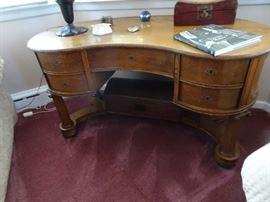 Unusual Empire Curved Desk