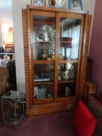 Arts & Crafts Primitive Enclosed Cupboard