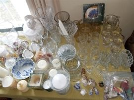 Crystal and fine china