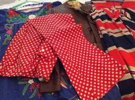 TRUE RETRO POLKA DOT BELL BOTTOMS FROM THE 60'S