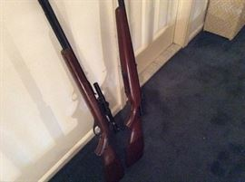 2 GUNS ONE IS A MARLIN 60 22