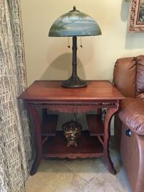 """Antique """"Gingerbread"""" Table"""