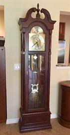 Ridgeway Model #5281Centennial Statue of Liberty Grandfather Clock