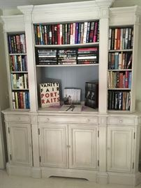 Gorgeous 3 piece painted wall unit